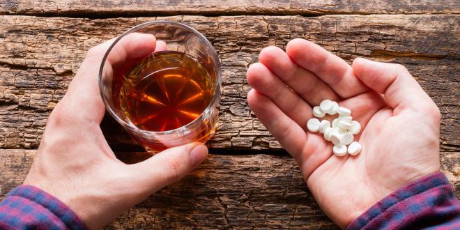 Antidepreßiva und Alkohol: Was ist das Problem?