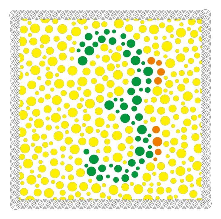 Rot Grün Schwäche Test – Diagnose Farbenblindheit