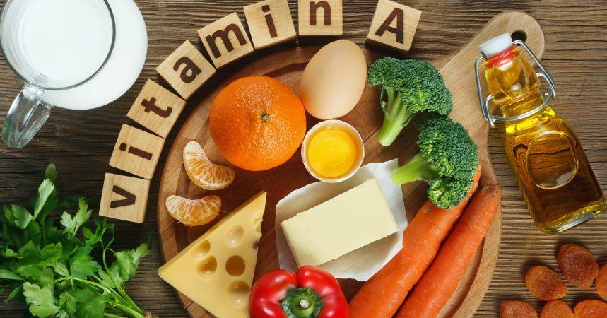 Vitamin A Lebensmittel – 20 tierische + 20 vegane Optionen